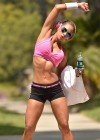 Jennifer Nicole Lee - Workout in Beverly Hills