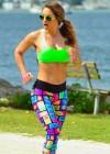 Jennifer Nicole Lee - Workout in Miami-11