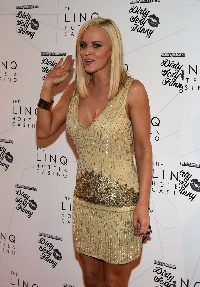 "Jenny McCarthy - Promoting ""Dirty Sexy Funny"" Comedy Show in Las Vegas"