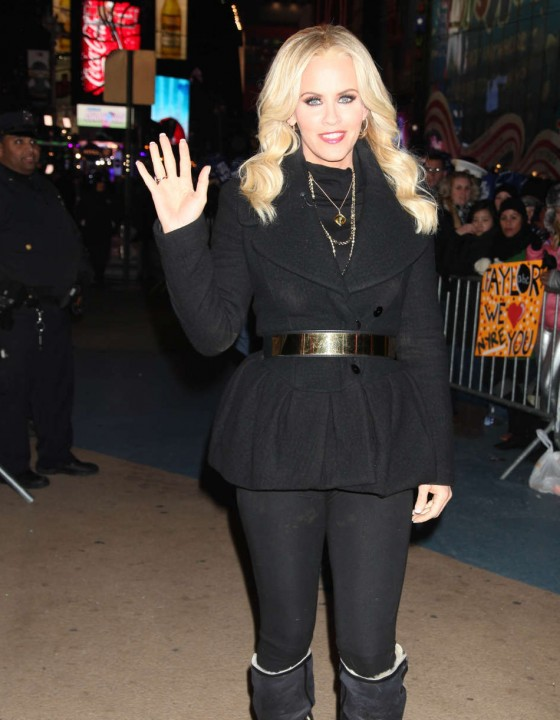 Jenny McCarthy in New Year's Eve 2013 at Times Square