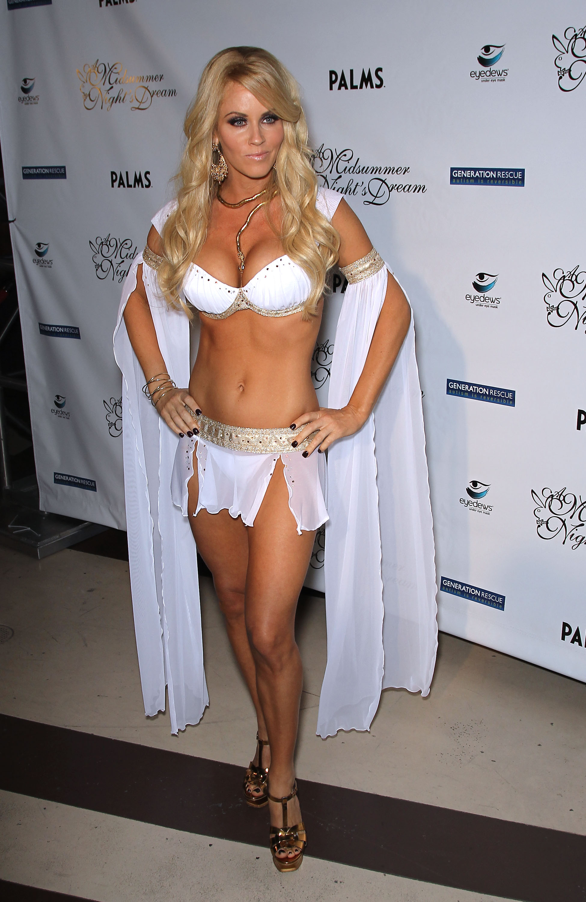 Jenny Mccarthy Midsummer Nights Dream Party In Las Vegas