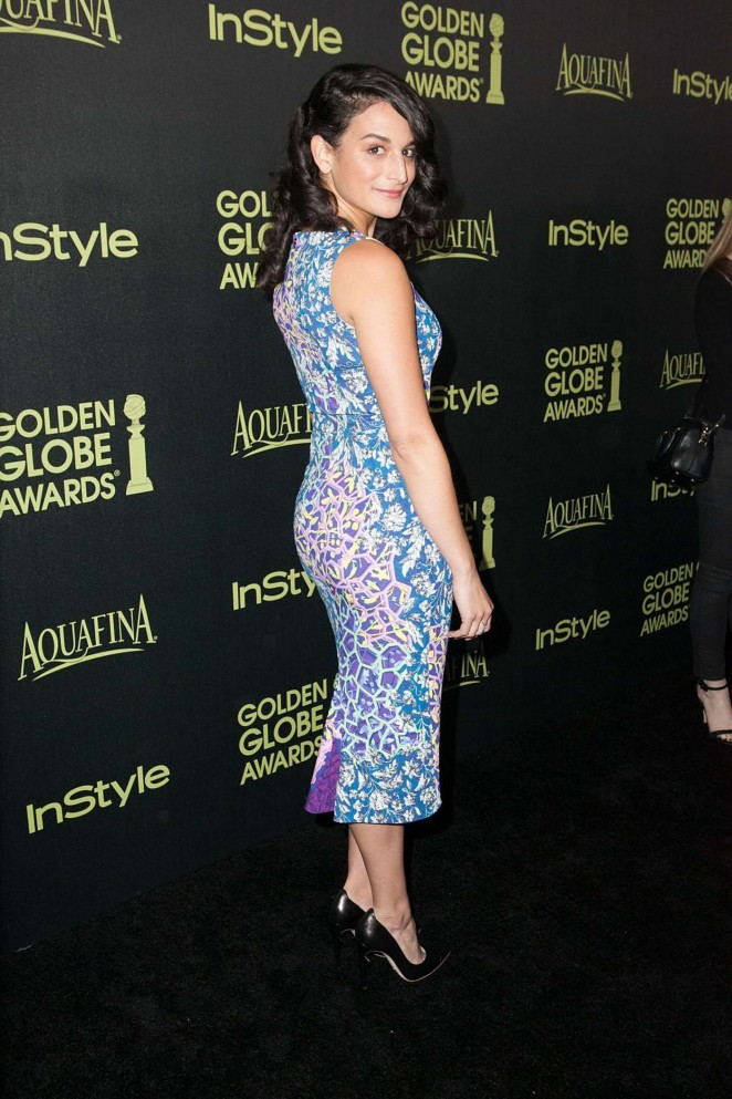Jenny Slate - HFPA & InStyle Celebrate 2015 Golden Globe Award Season in West Hollywood