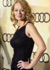 Jeri Ryan In Black dress at 2013 Audi Golden Globe Kick Off Party in Los Angeles