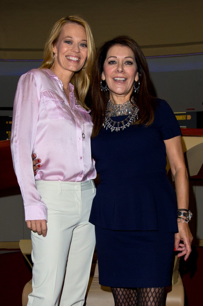 Jeri Ryan & Marina Sirtis - Destination Star Trek Event at ExCel in London