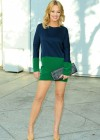Jeri Ryan - Photoshoot at her house in Beverly Hills