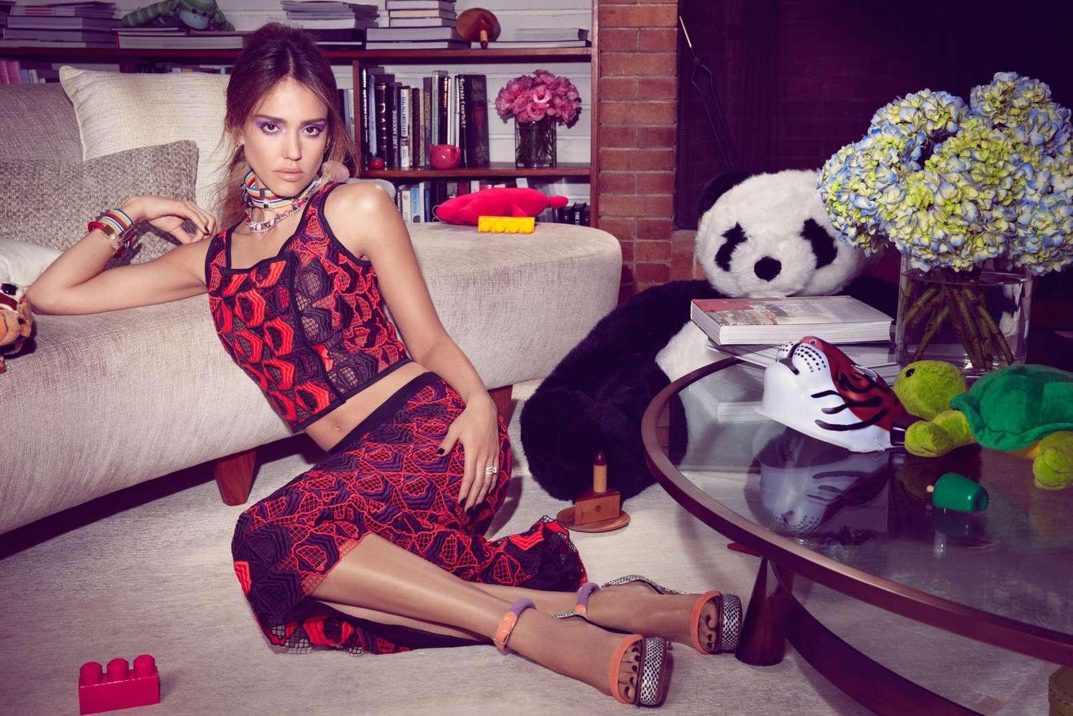 a2f929bb15 Jessica Alba - 2013 InStyle Magazine Photoshoot