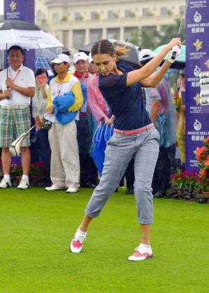 Jessica Alba - 2014 Mission Hills World Celebrity Pro-Am Golf Tournament in Haikou City
