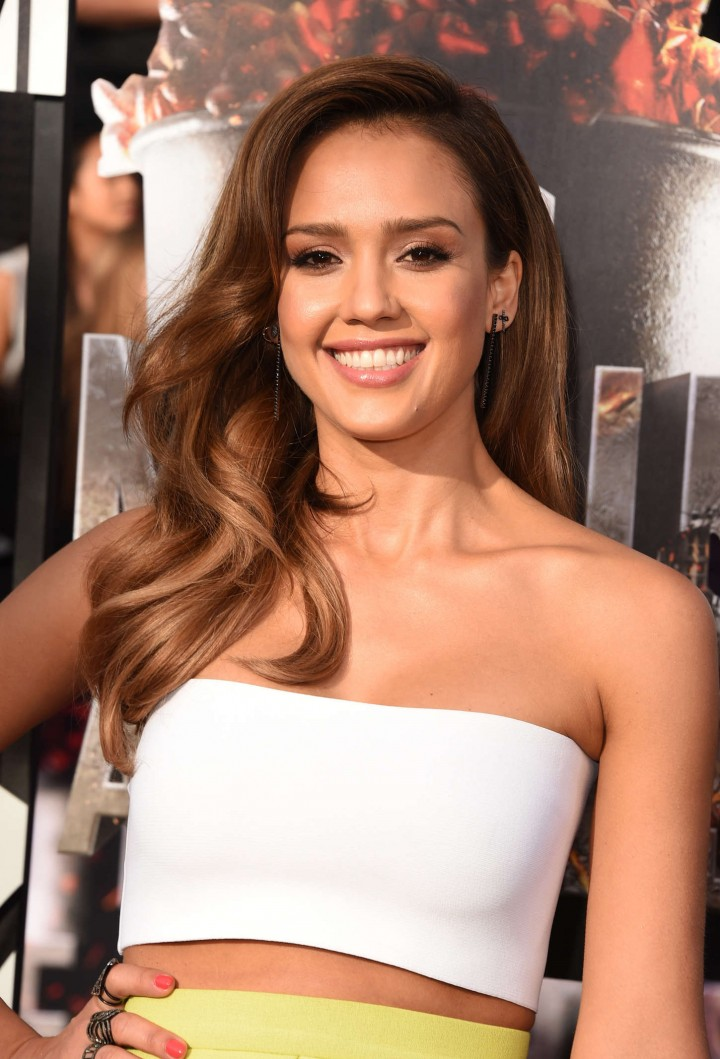 Jessica Alba: 2014 MTV Movie Awards -01