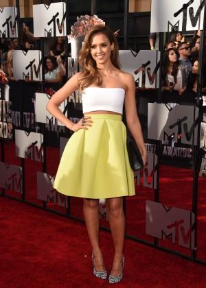 Jessica Alba: 2014 MTV Movie Awards -02