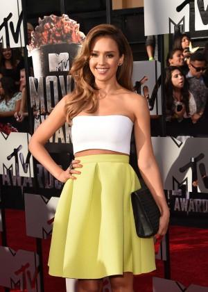 Jessica Alba: 2014 MTV Movie Awards -03