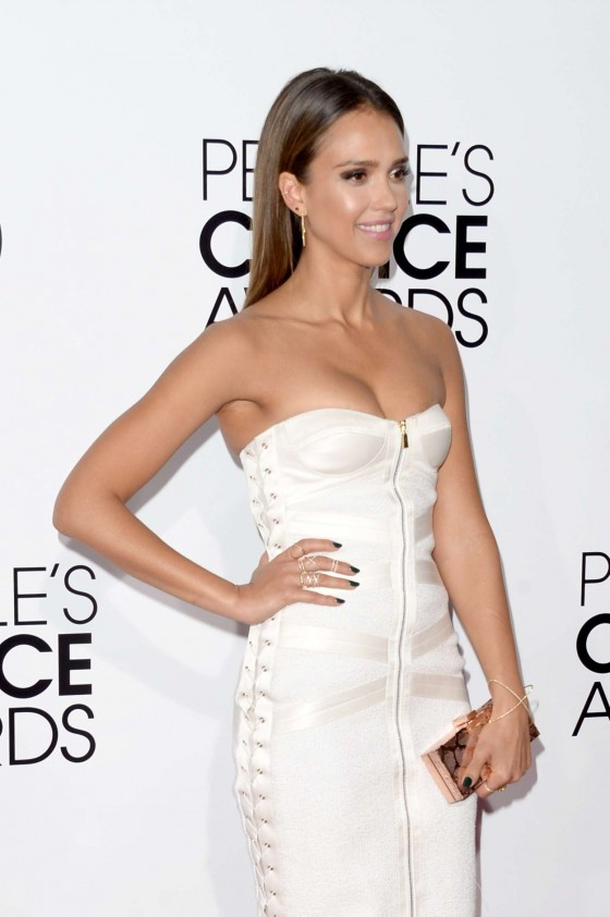 Jessica Alba: 2014 Peoples Choice Awards -10