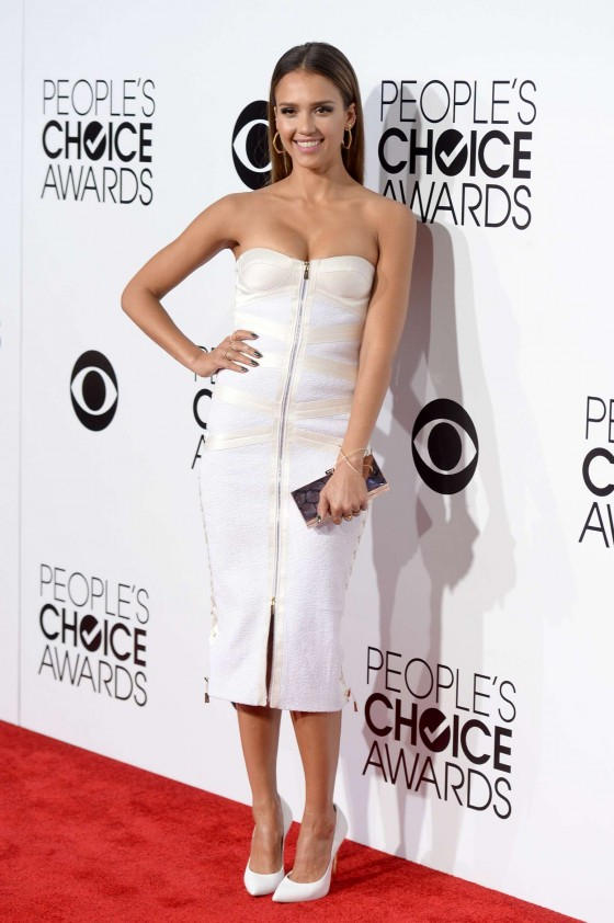Jessica Alba: 2014 Peoples Choice Awards -13