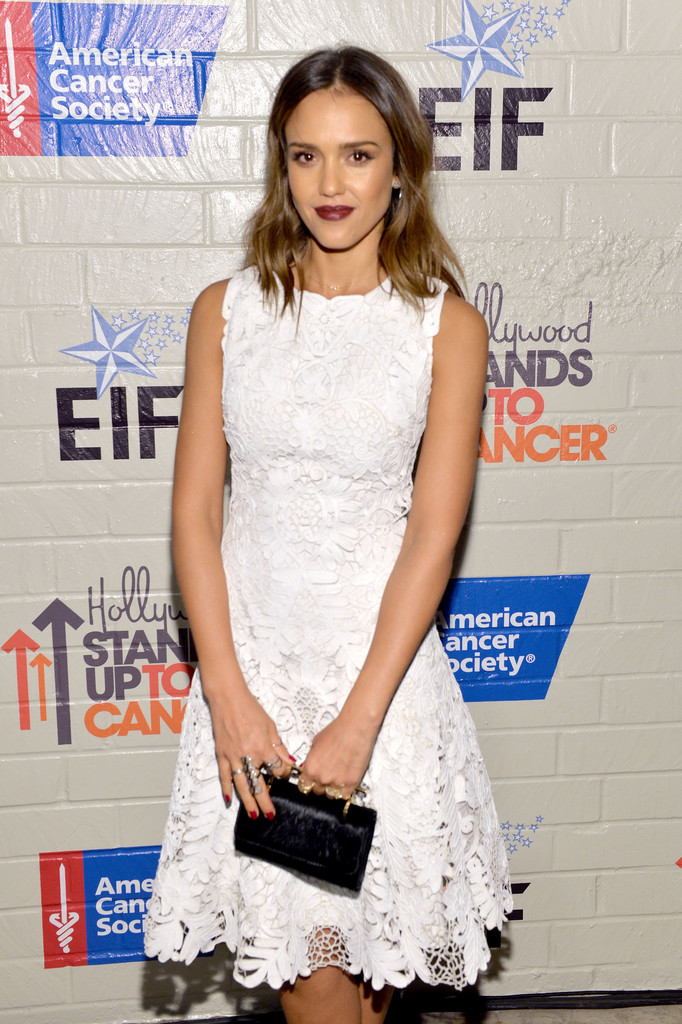 Jessica Alba: 214 Hollywood Stands Up To Cancer Event -06