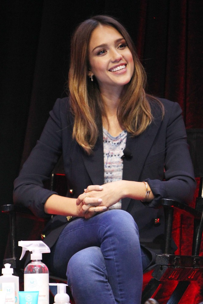 "Jessica Alba - ""An Honest Conversation"" Panel in NY"