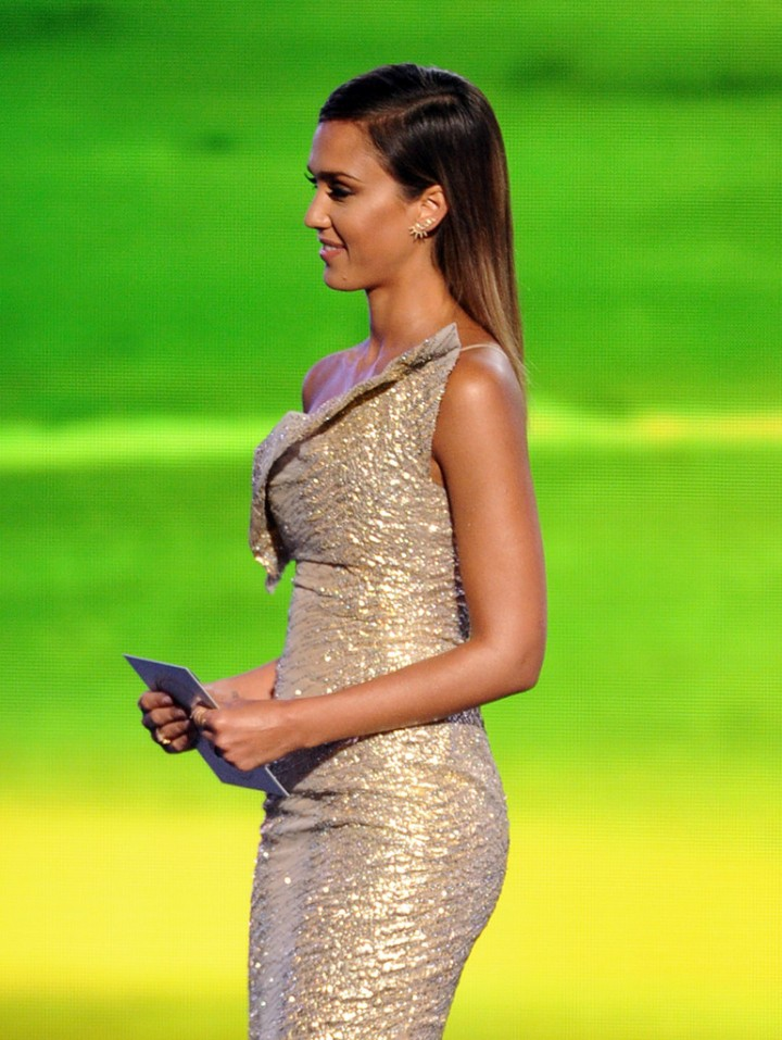 Jessica Alba at 2014 ESPYS in LA -01