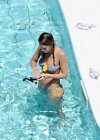Jessica Alba - Bikini at the pool-02