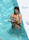 Jessica Alba - Bikini at the pool-17