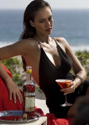 Jessica Alba: Compari Calender 2009 -07