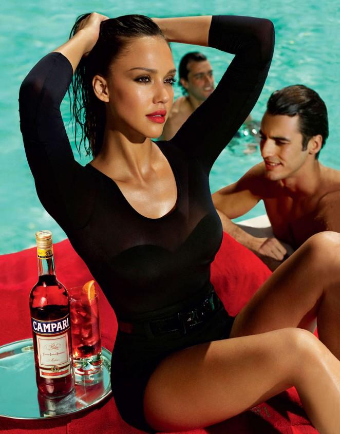 Jessica Alba: Compari Calender 2009 -08