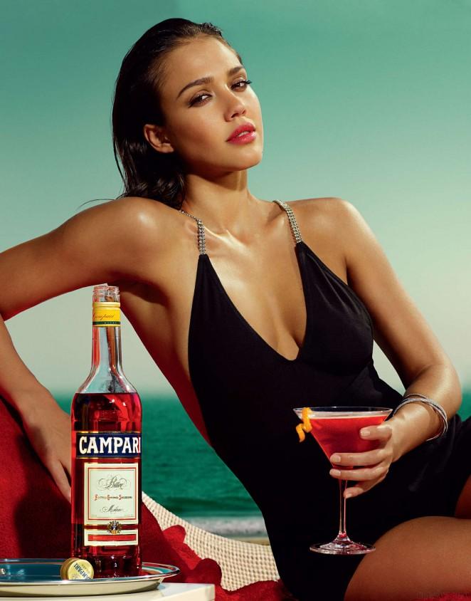 Jessica Alba: Compari Calender 2009 -13
