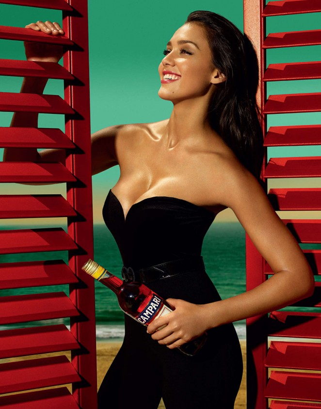Jessica Alba: Compari Calender 2009 -14