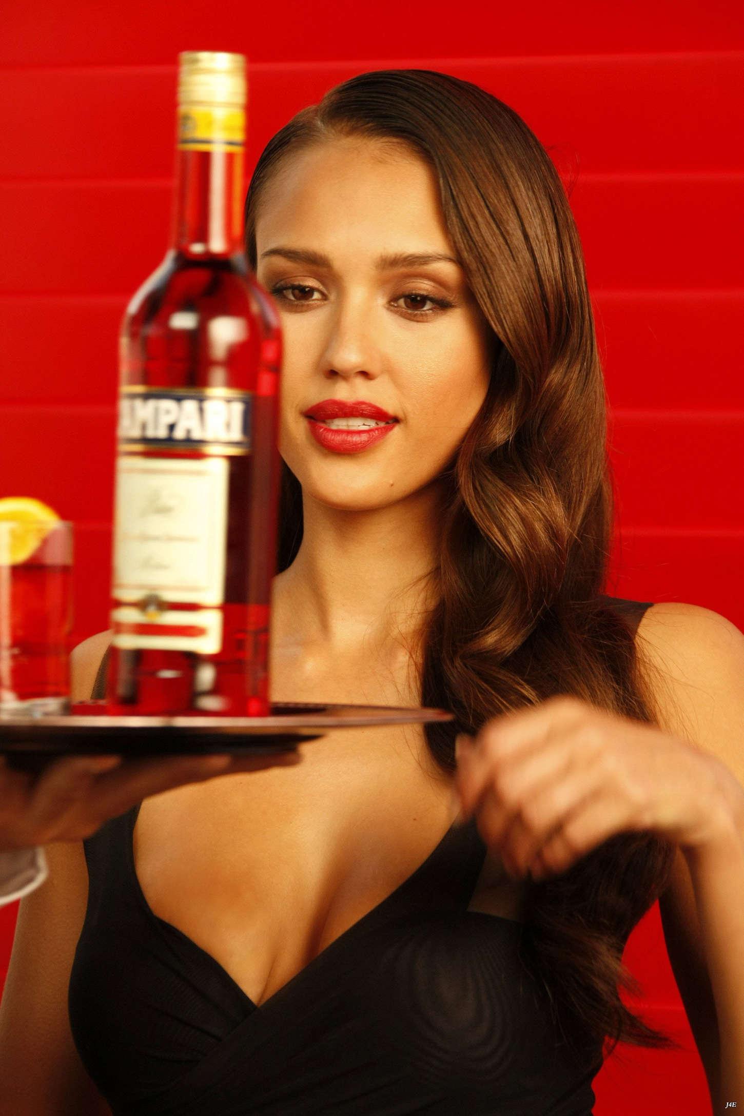 Jessica Alba 2014 : Jessica Alba: Compari Calender 2009 -16