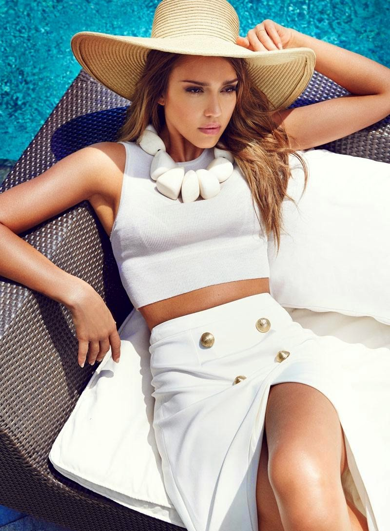 Jessica Alba - Cosmopolitan Turkey Magazine (August 2014)