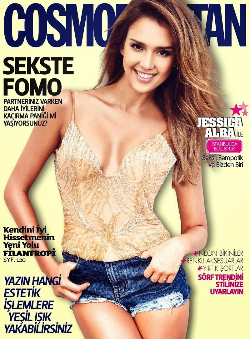 Jessica Alba 2014 : Jessica Alba: Cosmopolitan Turkey 2014 -03