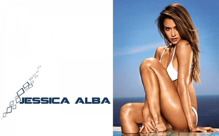 Jessica Alba Entertainment Weekly Bikini Wallpapers -02