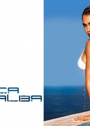 Jessica Alba Entertainment Weekly Bikini Wallpapers -03