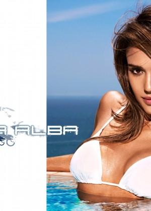 Jessica Alba Entertainment Weekly Bikini Wallpapers -05