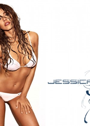 Jessica Alba Entertainment Weekly Bikini Wallpapers -06