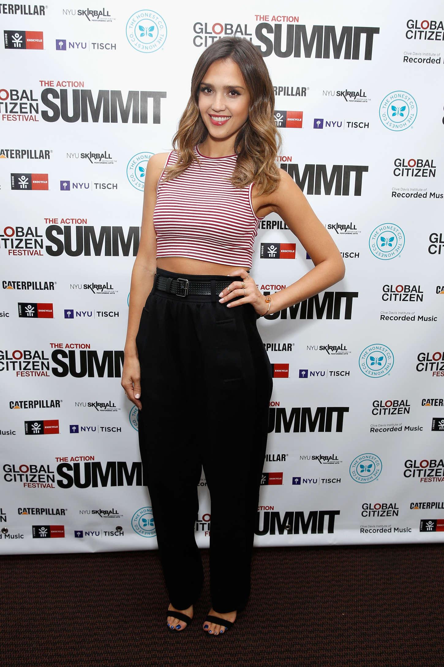 Jessica Alba 2014 : Jessica Alba: 2014 Global Citizen Festival -01