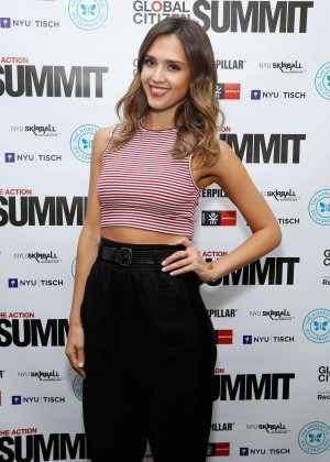 Jessica Alba - Global Citizen Festival 2014 in NYC