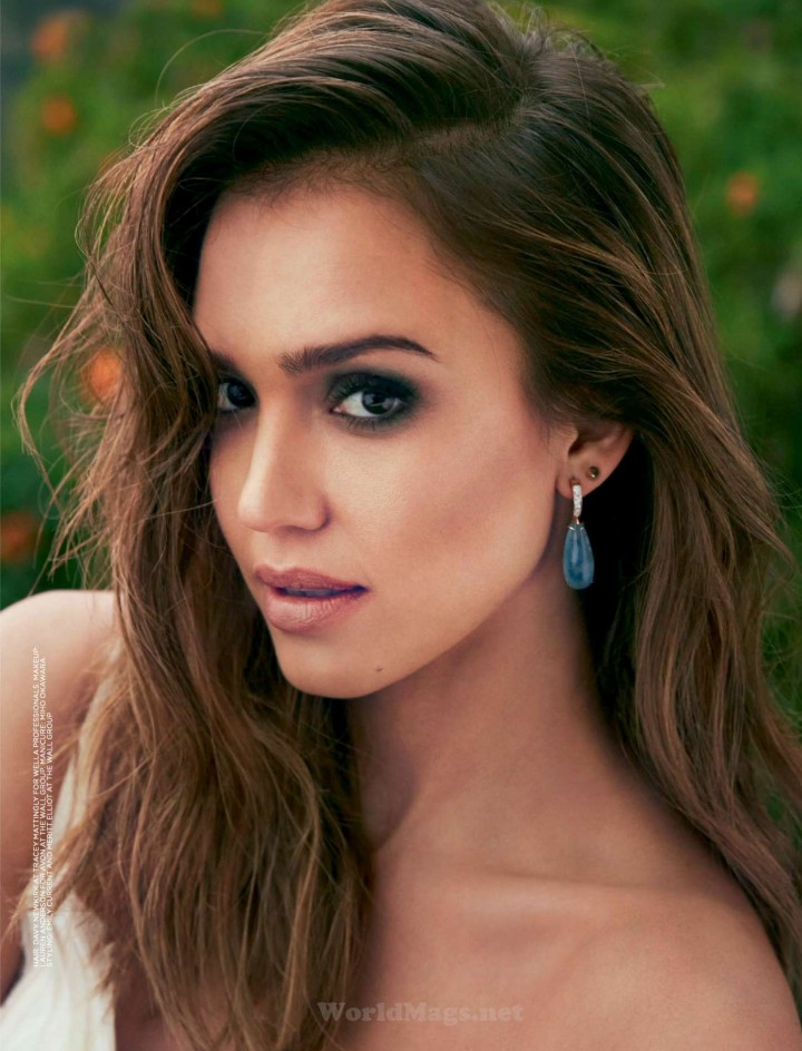 Jessica Alba - Good Housekeeping South Africa Magazine (September 2014)