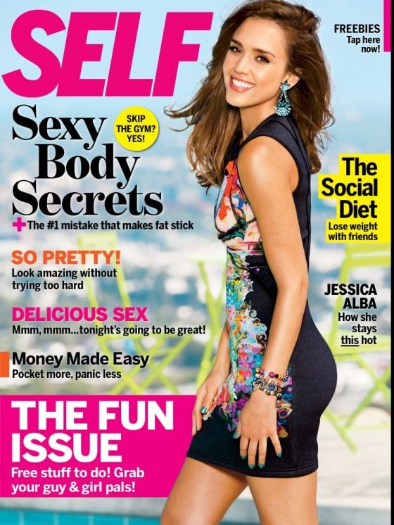 Jessica Alba photoshoot for Self Magazine