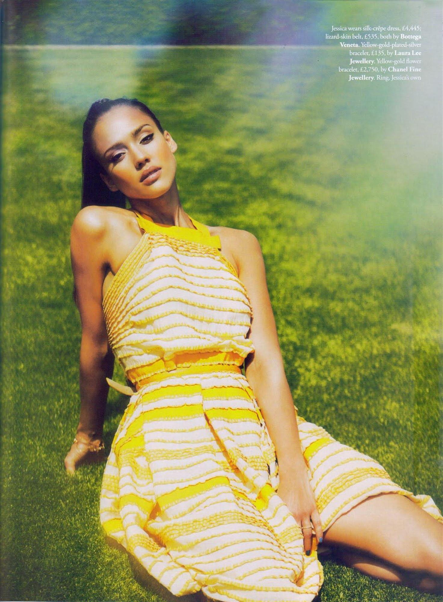 b5a38f0cdf Jessica Alba in Tatler Magazine June 2010 issue – scans – GotCeleb