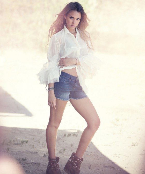 Jessica Alba in The Edit magazine 2013 -02