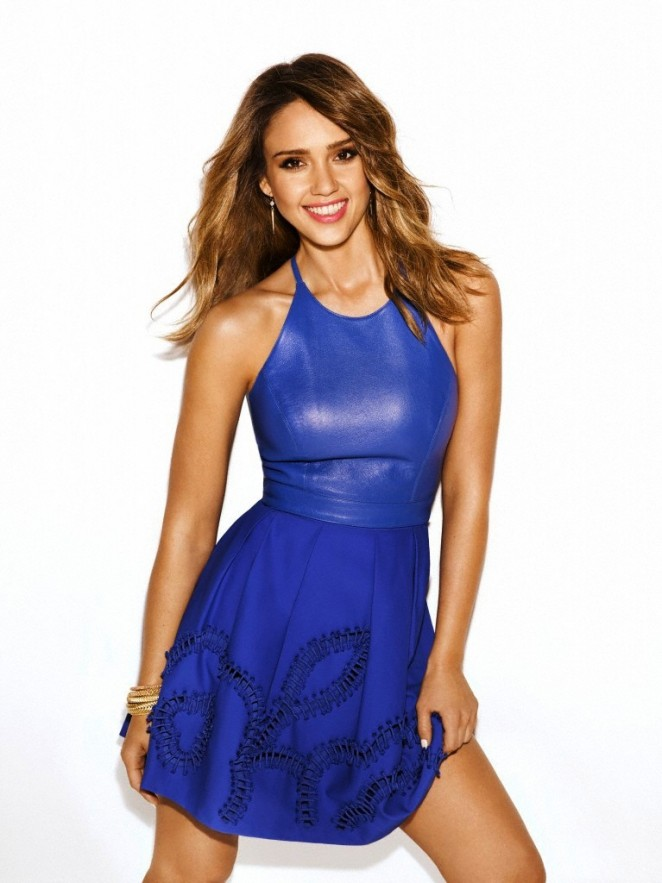 Jessica Alba by James White Photoshoot Redbook 2014