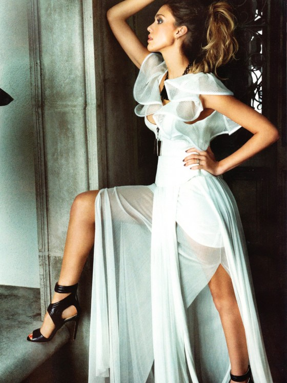Jessica Alba – Latina Magazine – April 2013 -03