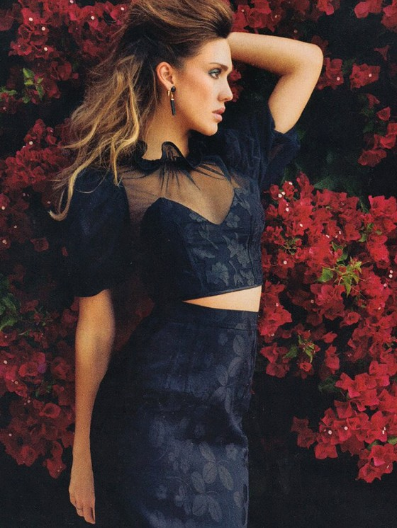 Jessica Alba – Latina Magazine – April 2013 -04