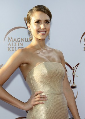 Jessica Alba: Magnum Golden Butterfly Awards -01