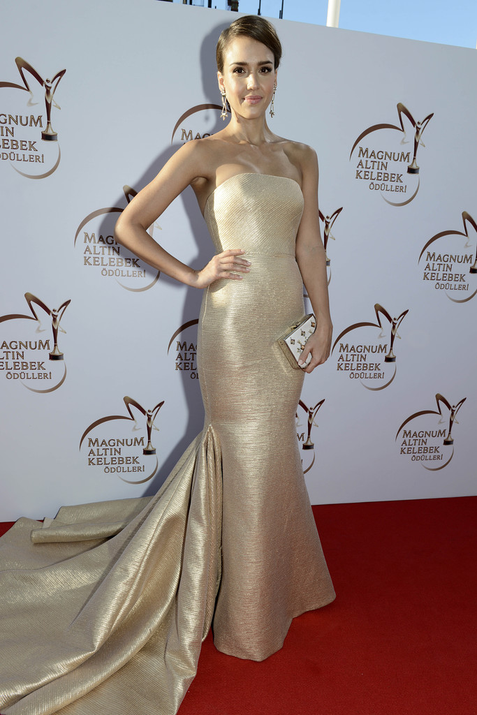 Jessica Alba – Magnum Golden Butterfly Awards in Istanbul