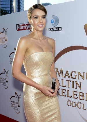 Jessica Alba: Magnum Golden Butterfly Awards -03