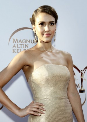 Jessica Alba: Magnum Golden Butterfly Awards -04