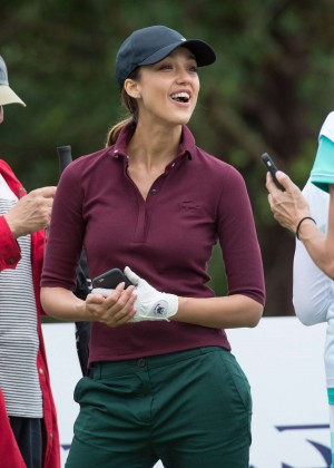Jessica Alba - Mission Hills World Celebrity Pro-Am at Mission Hills Blackstone Course - DAY 4 in China