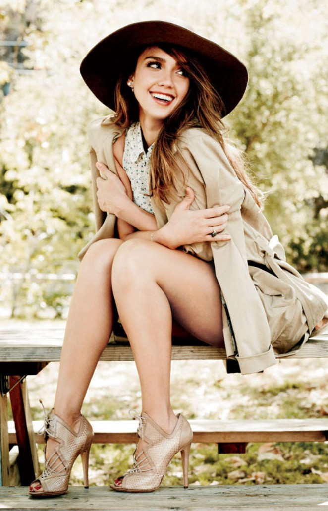 Jessica Alba - Natural Health Magazine (Jan/Feb 2015)