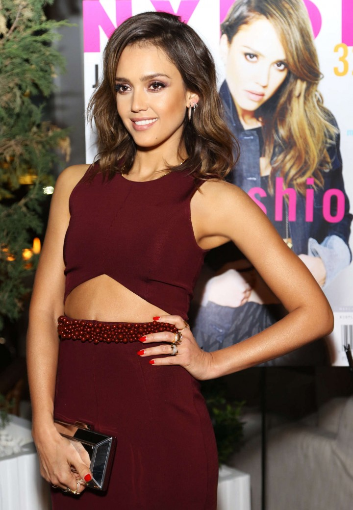Jessica Alba: NYLON Cover Party -03