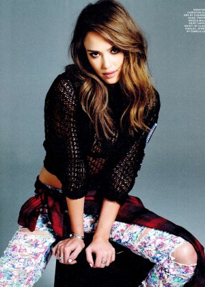 Jessica Alba: Nylon magazine (March 2014) -01