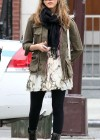Jessica Alba - Leggy candids in New York-06